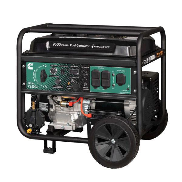 Cummins P9500df- Portable Generator 200lbs
